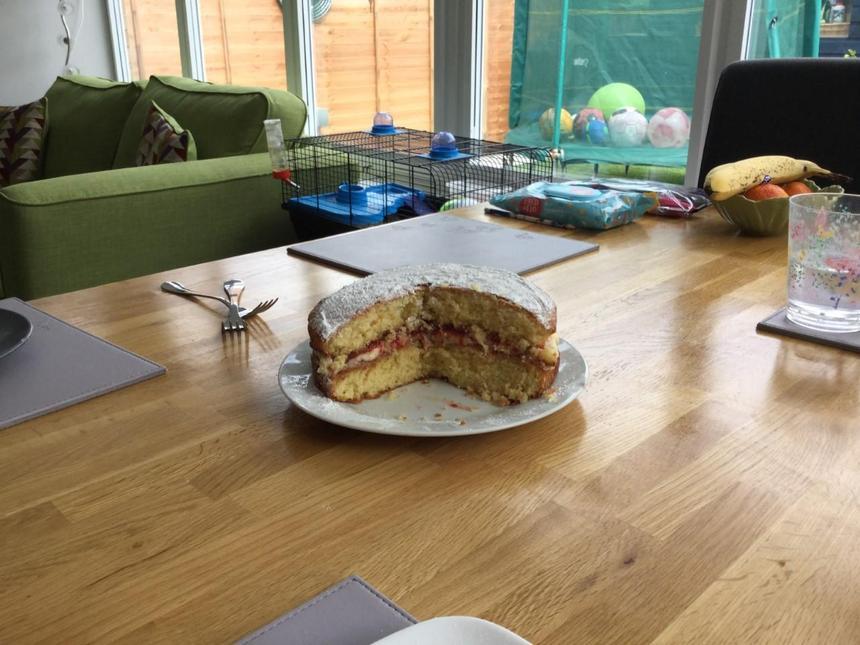 Neve's sponge cake