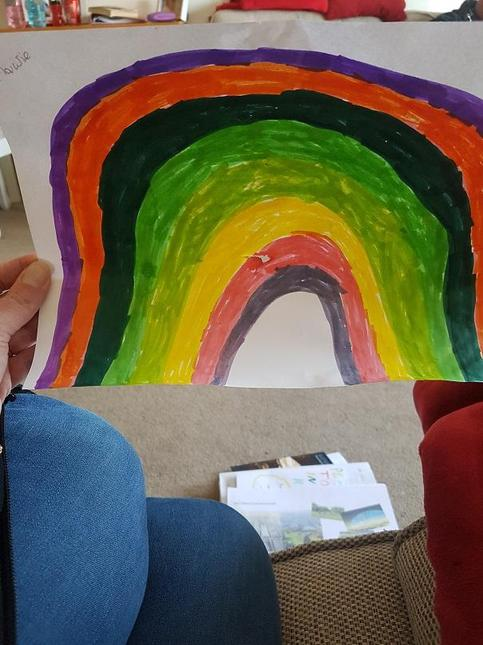 A beautiful rainbow by M