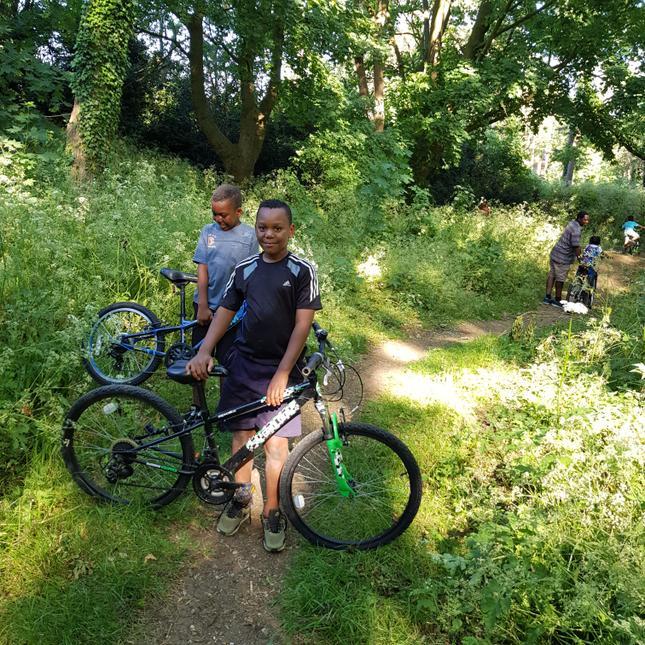 Bike ride fun!