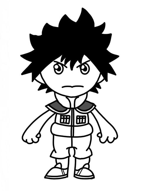 Clement's Flipaclip character