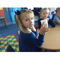 We followed recipe that all the ingredients where measured using a yogurt pot.