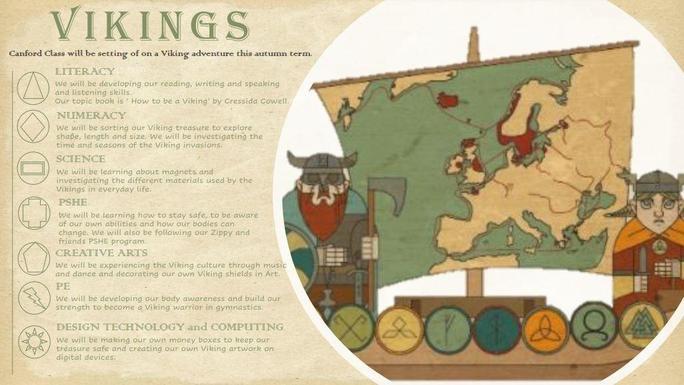 Autumn Term 2021 - We are setting sail on a Viking adventure!