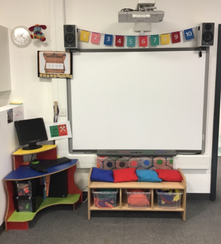 Our Circle Time Area