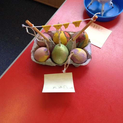 Runa's festival eggs.
