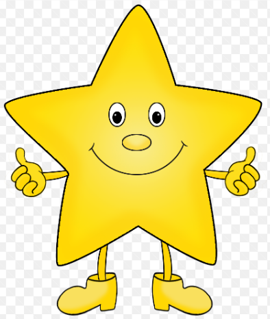 Star 4 for great time work in school
