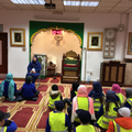 We listened to Nahida tell us all about her faith