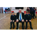 Members of our School Parliament met our local MP!