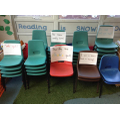 Oh no! The chairs in Year 1 are on strike!