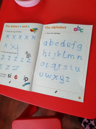 Isabelle has been writing her letters.