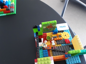Nathan has made this fantastic model house.