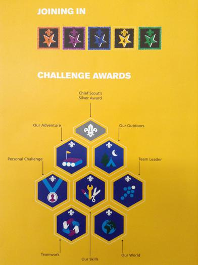 Joining in / Challenge Awards