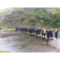 A whole class on the Stepping Stones!
