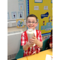 We made a tornado in a bottle in Science!