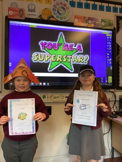 Well done to Mia, Violet and Mckenzie.
