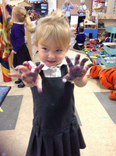 Exploring paint texture!