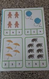 Nathan's maths work.