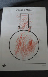 Nathan has designed a medal for VE Day.