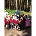 Reception had a super time at the Gruffalo Trail.