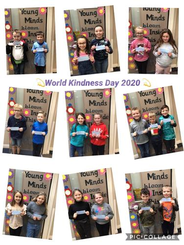 We really enjoyed reading the kind words by others in the class 🎈