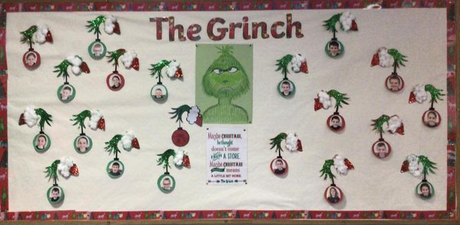 The Grinch - Christmas craft 🎄