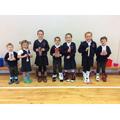 Class prize winners