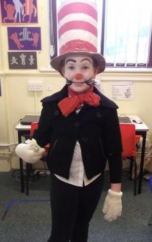Yr 6: Holly Dixon as The Cat in the Hat