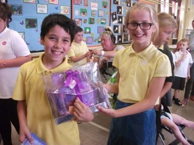 Third prize was won by Zach, Year 5.