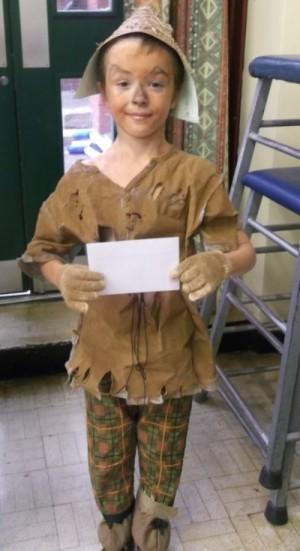 Yr 4: Kieran Steele as The Strawman