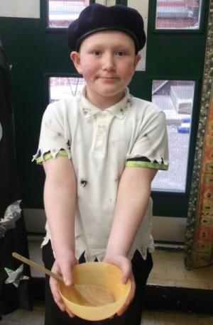 Yr 3: Cole Bailey as Oliver Twist