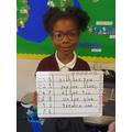 Super maths work!