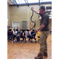 Dave with the snake