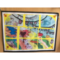 Artwork inspired by Hundertwasser