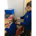role play - our hairdresser's salon