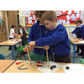 designing and building levers, winches and pulleys
