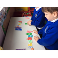 Ordering numicon problem solving