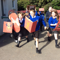 recreating a Roman army during battle!