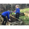 preparing our planters