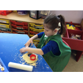 investigating playdough
