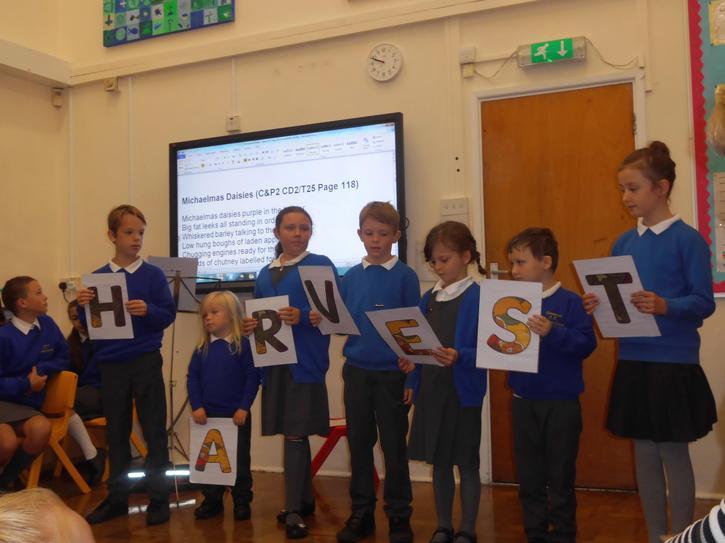 The Ethos group shared their ideas on Harvest
