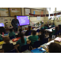 Sandy (Place2Be) delivering a session to Year 2