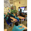 Sandy (Place2Be) delivering a session to Year 3