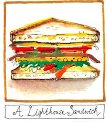A Lighthouse Sandwich