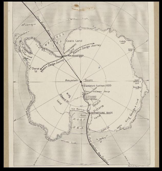 Original Expedition map