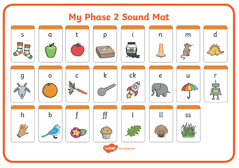 Phase 2 phonic sound mat