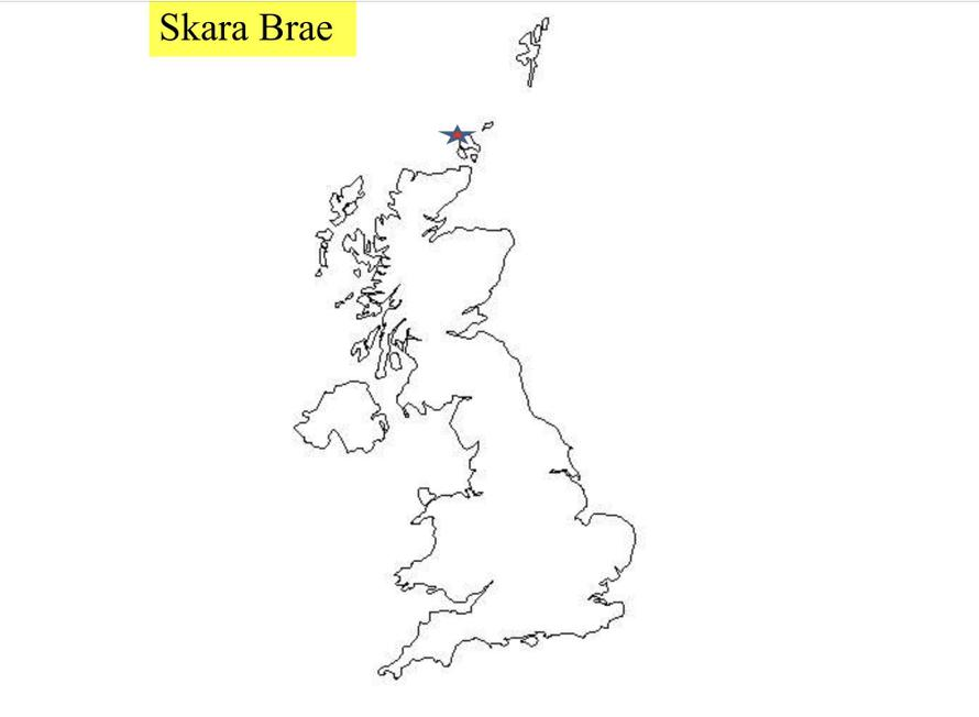 Location of Skara Brae