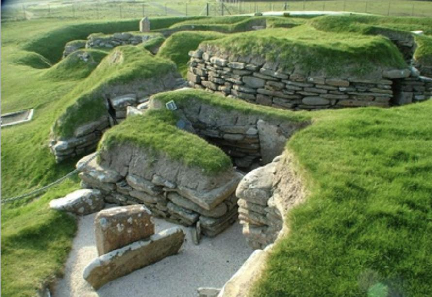 Skara Brae site today