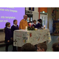 Epiphany mass in school