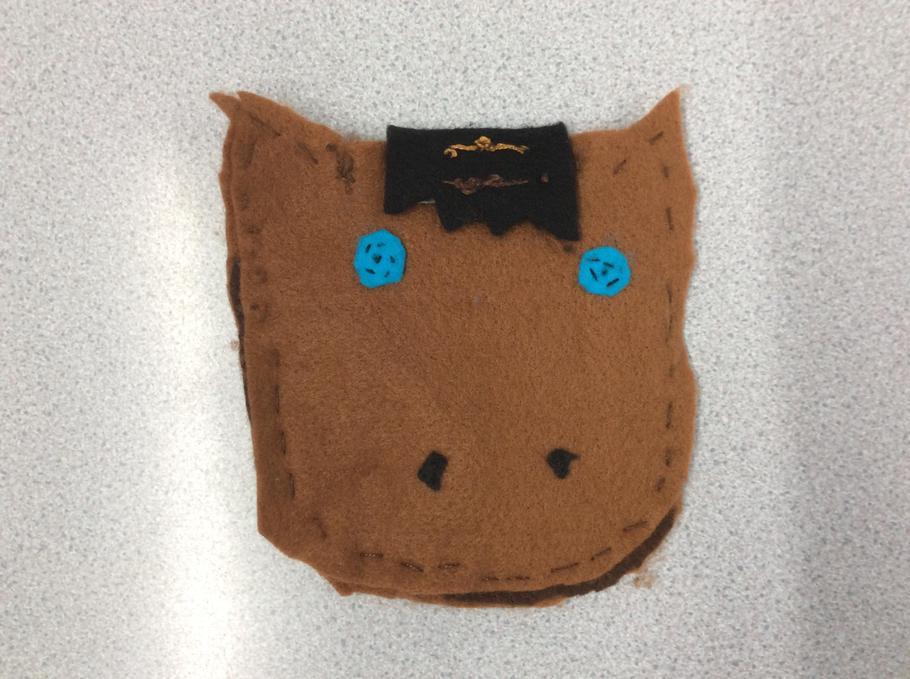 Evie's horse purse.