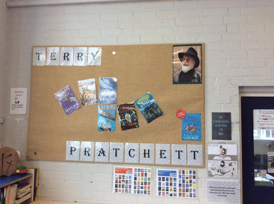 Our Literacy author study for this term