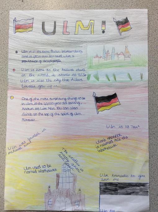 Research on Ulm by Poppy & Emily